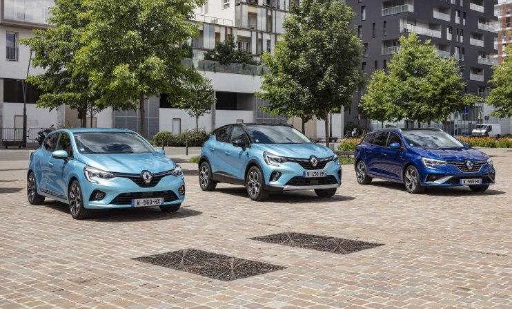 Nové modely Renault E-TECH