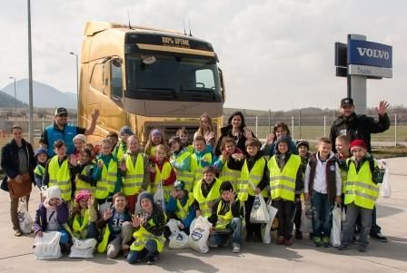Detské dopravné semináre s Volvom