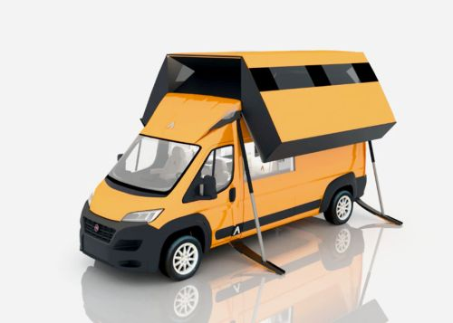 Prvý mezonetový karavan je na svete!