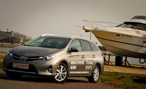 Rodinka TEST: Toyota Auris Touring Sports