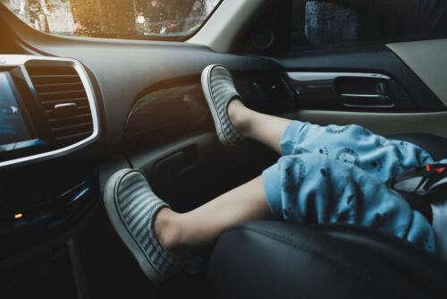 Pravidlá - deti v aute vyhláška