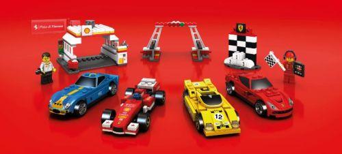 Edícia modelov Ferrari z LEGA znovu na SHELL-ke