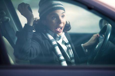Matka za volantom alebo... ticho!!!